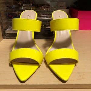 Forever 21 Neon Heels size 6